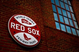 1918 Red Sox World Championship banner