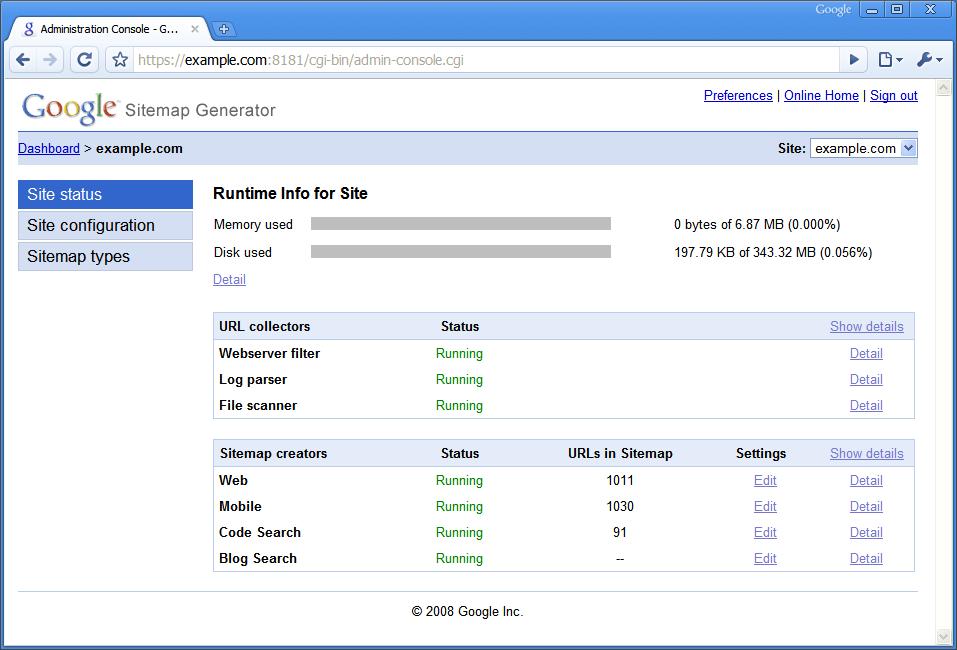 Google Updates Their Sitemap Generator