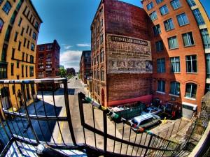 Street in Boston Waterfront photo by wili_hybrid