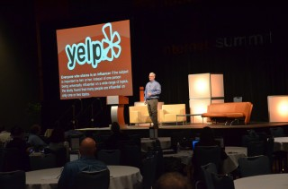 Phil Buckley speaking at Internet Summit 2011 - photo by Thos Ballantyne