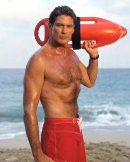 David Hasselhoff on Baywatch