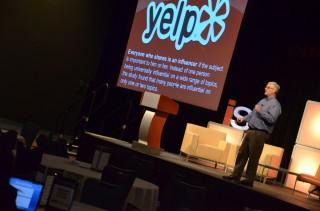 Phil Buckley speaking at the Internet Summit