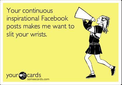 Facebook inspirational quotes