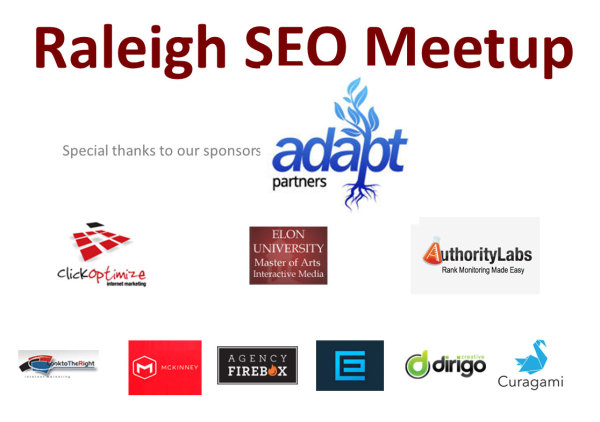 Raleigh SEO sponsors